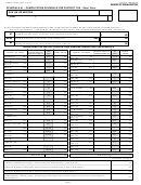 Form Boe-531 - Schedule A1 - Computation Schedule For District Tax - Short Form