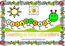 Counting In Tens Caterpillars Practice Sheet