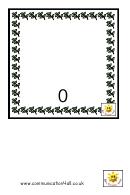 Christmas Teddies Number Practice Sheet