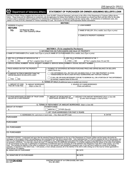 page_1_thumb_big Va Loan Application Form on free personal, printable buiness, uniform residential, sample small, bank america car, printable business, free print,