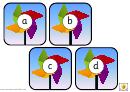 Summer Style Alphabet Chart