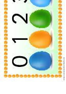Eggs Number Practice Sheet