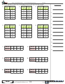 Function Machines - Creating Equations Worksheet Template With Answer Key