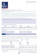 Form Vaf1b - Family Visitor