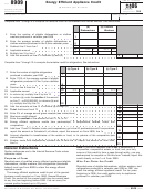 Form 8909 - Energy Efficient Appliance Credit - Department Of The Treasury - 2006
