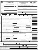 Form Sc 1120 - 'c' Corporation Income Tax Return - State Of South Carolina
