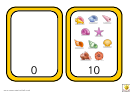 Number Bonds To 10 Shell Match Template