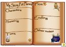 Story Pot Planner Template