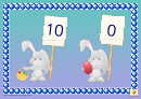 Numberbonds To 10 Bunnies Template