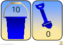 Bucket And Spade Numbers To 10 Template