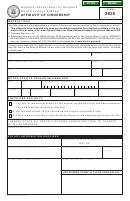 Form 2635 - Affidavit Of Ownership