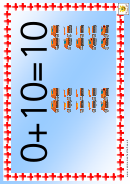 Vehicle Counting Number Chart - 0-10
