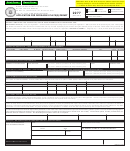 Form 2277 - Application For Driveaway Plate(s)/permit