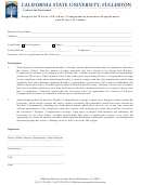 Request For Waiver Of Workers' Compensation Insurance Requirement And Waiver Of Claims