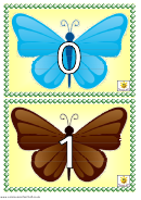 Butterfly Number Chart
