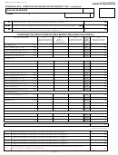 Form Boe-531-ae2 - Schedule Ae2 - Computation Schedule For District Tax - Long Form