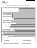 Form Co-8151-6 - Request For Modification Of Cultural Resource Use Permit