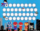 Super Hero Chore Reward Chart