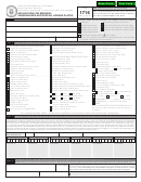 Form 1716 - Application For Missouri Personalized And Special License Plates