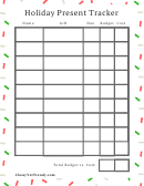 Holiday Present Tracker