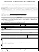 Dd Form 2987 - Cap Accommodation Request