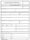 Dd Form 2951 - Initial Report Of Suspected Child Sexual Abuse In Dod Operated Or Sponsored Out-of-home Care Activities