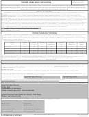 Dd Form 2947-2 - Tricare Young Adult Application