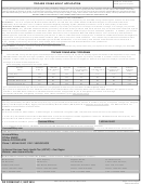 Dd Form 2947-1 - Tricare Young Adult Application