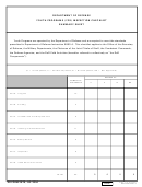 Dd Form 2878 - Dod Youth Programs Inspection Checklist Summary Sheet