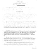 North Dakota Federal And Indian Communitization Agreement