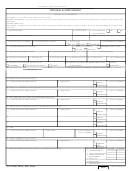 Dd Form 2835 - Program Access Request