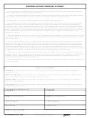 Dd Form 2810 - Personnel Recovery Debriefing Statement
