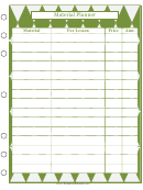 Material Planner Templates