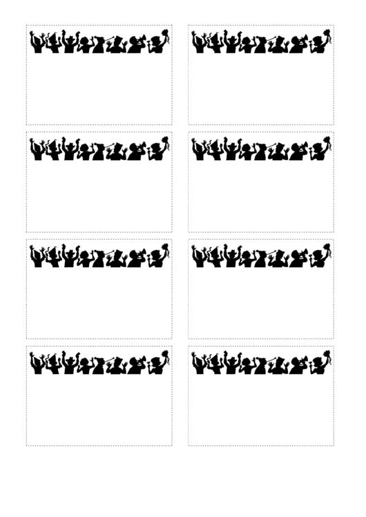 Party Name Tag Template Printable pdf
