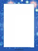 Stars Page Border Templates