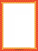 Triangles Page Border Templates