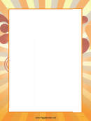 Rays Page Border Templates