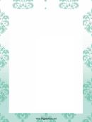 Pale Ornament Page Border Templates