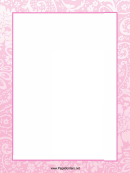 Flowery Page Border Templates