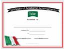 Italy Italian Language Certificate