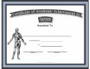Anatomy Academic Certificate