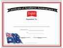 Australia English Language Certificate