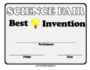 Science Fair Best Invention