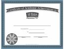 Art History Academic Certificate