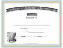 Ceramics Academic Certificate