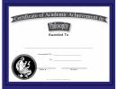 Philosophy Academic Certificate
