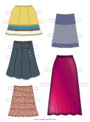 Paper Doll Skirt