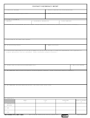 Dd Form 2772 - Contract Discrepancy Report