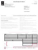 Form Dr-133 - Gross Receipts Tax Return