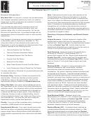Instructions For Form Dr-309637n - Petroleum Carrier Information Return - 2018